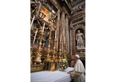 Pápež František ďakuje Panne Márii za cestu do Arménska | Správy Výveska | Scoop.it