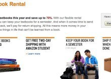 Amazon goes for college crowd, launches rental textbook service   Thinking, Learning, and Laughing   Scoop.it