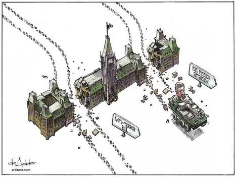 Canada: Harper is losing the argument on C-51 … with Conservatives   Tasha Kheiriddin   iPolitics.ca   Surfing the Broadband Bit Stream   Scoop.it