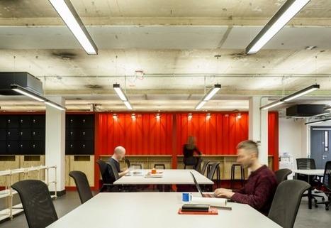 Tour Google's London Coworking Space, Google Campus | La Cantine Toulouse | Scoop.it