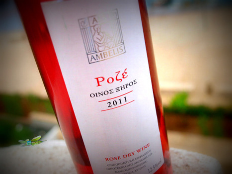 Aes Ambelis Rosé, a truly sun blessed wine, taking...   Wine Cyprus   Scoop.it