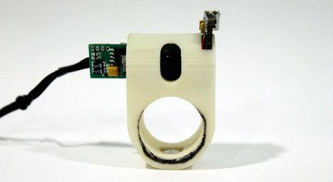 3D Printed FingerReader Ring - 3D Printing Industry | 3D Printing Industry | Scoop.it