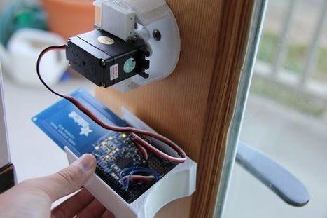 NFC Door Lock with the Qduino Mini (under $100) | Open Source Hardware News | Scoop.it