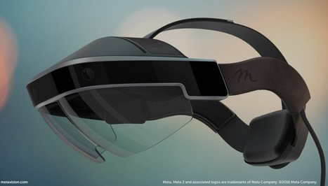 'Meta 2' AR Glasses Available to Pre-order, 1440p with 90 Degree FOV for $949 - Road to VR | 360-degree media | Scoop.it