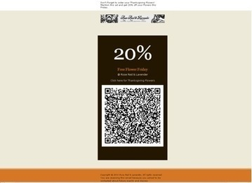 Interesting Use of a QR Code in Email Marketing | Teaching with QR Codes | Scoop.it
