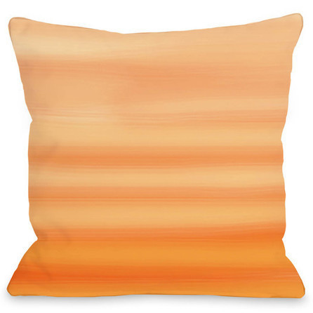 One Bella Casa Ombre Watercolors Polyester Throw Pillow | darch | Scoop.it