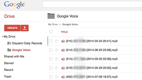 Save Google Voicemails to Your Google Drive with a Script | iGeneration - 21st Century Education | Scoop.it