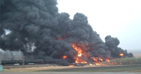 North Dakota Town Evacuated Following Fiery Oil Train Derailment | Geography Education | Scoop.it