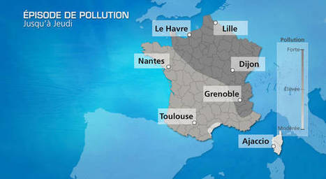 Pollution : l'anticyclone responsable | Toxique, soyons vigilant ! | Scoop.it