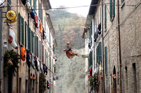 "The TIME gives the Link to the Urbania's ""Festa della Befana"" telling us about ""The Quirky Ways 7 Other Countries Celebrate Christmas"" 