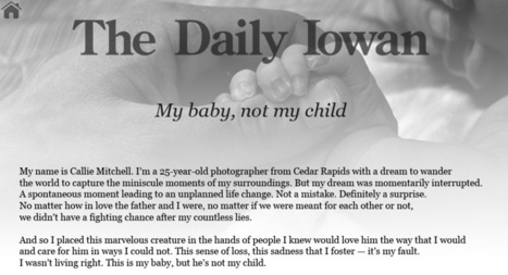 My baby, not my child - The Daily Iowan | Parental Responsibility | Scoop.it