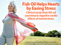 Fish Oil Aids Hearts by Easing Stress | Longevity science | Scoop.it