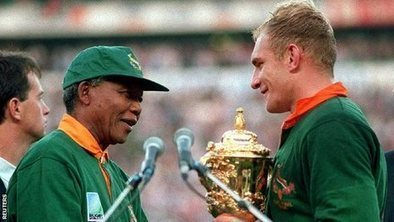 Nelson Mandela: How sport helped to transform a nation - BBC Sport | lIASIng | Scoop.it