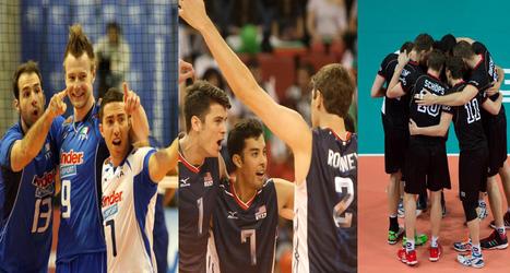FIVB World League: Italia, USA y Alemania ganan por duplicado - VOLEIBOL.pe | voleibol | Scoop.it