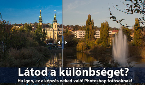 Photoshop fotósoknak, fotótanfolyam | Képzés, képzések | Scoop.it