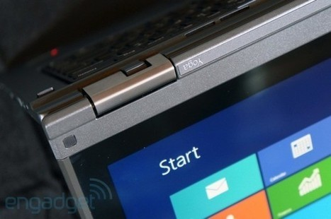 Lenovo's ThinkPad Yoga has a keyboard that flattens when you use it in tablet mode (update: video) | GooseWorks Technologies News | Scoop.it
