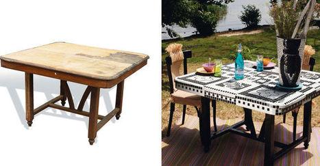 Déco récup : nouveau look pour vieux meubles | Mobilier et objets industriels | Scoop.it