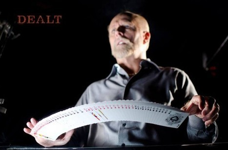 Blind Card Shark Will Amaze You with His Incredible Card Tricks   Strange days indeed...   Scoop.it