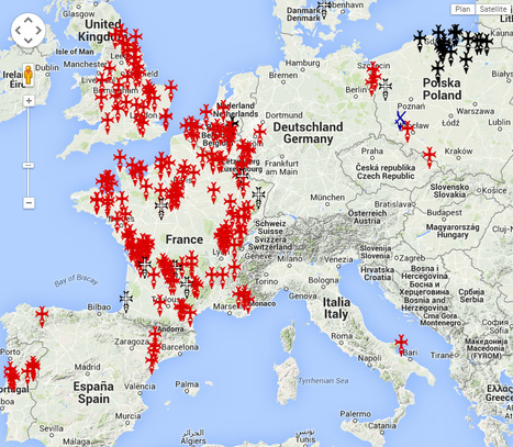 Les possessions des Ordres Religieux et Militaires en Europe et au Proche-Orient | Le creuset d'Histophile ? | Scoop.it