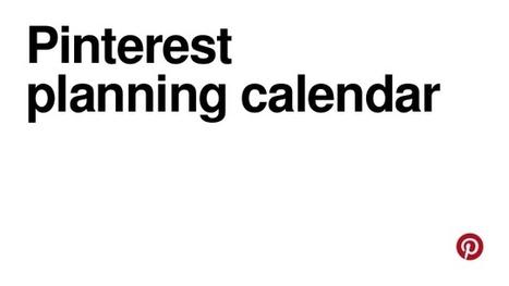 Pinterest planning calendar   Pinterest tips & more   Scoop.it