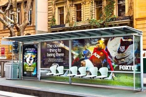 Australie : Une odeur d'herbe fraîche dans les abribus pour la promotion de la Premier League | Marketing sportif | Scoop.it