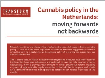 BRIEFING: Cannabis policy in the Netherlands: moving forwards not backwards by @SteveTransform | Drugs, Society, Human Rights & Justice | Scoop.it