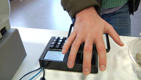 La startup Quixter crée le paiement biométrique | Visions Mag | Banking | Scoop.it