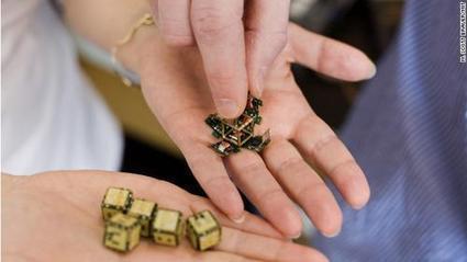 Robot Pebbles Duplicate 3D Shapes | Social Foraging | Scoop.it