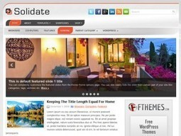 Free WordPress Themes and WordPress Templates by FThemes.com | Template & Webdesign | Scoop.it