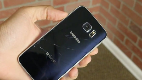How to fix Samsung Galaxy S6 cracked back glass? | Smartphone DIY Repair Guide | Scoop.it