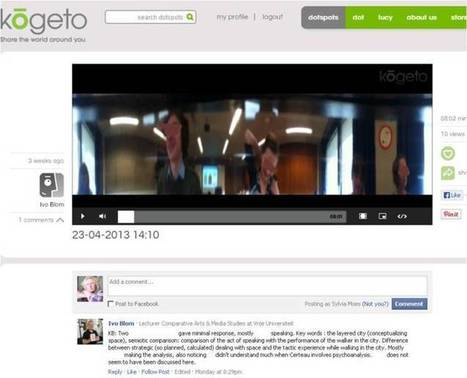 Kogeto camera for recording of offline group discussions @ VU University Amsterdam | 360 degree video for group discussions in class | Scoop.it