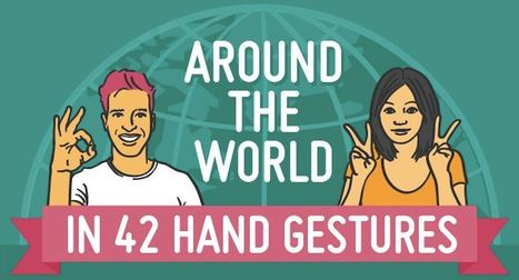 Around the world in 42 hand gestures | IELTS, ESP, EAP and CALL | Scoop.it