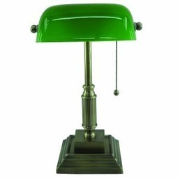 Normande Lighting AM3-624A Banker's Lamp Review | Best Bankers Lamps | Scoop.it