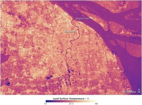 Looking Down From Space at Shanghai's Awful Heat Island | Mrs. Watson's Class | Scoop.it