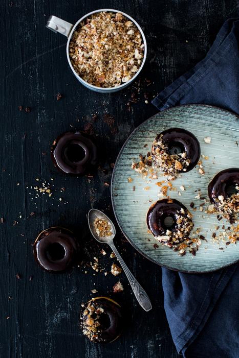 Donuts au chocolat et pralin | Carnets Parisiens | Passion for Cooking | Scoop.it
