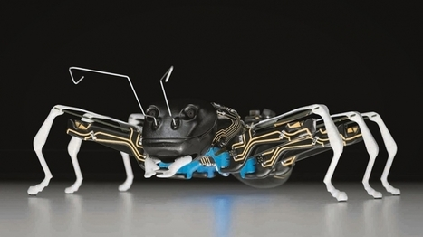 These Giant Robotic Ants Could One Day Replace Factory Workers - Entrepreneur | Peer2Politics | Scoop.it