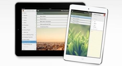 Wunderlist 2 aterriza por fin en el iPad y trae sustanciales mejoras bajo el brazo | The audience is listening | Scoop.it