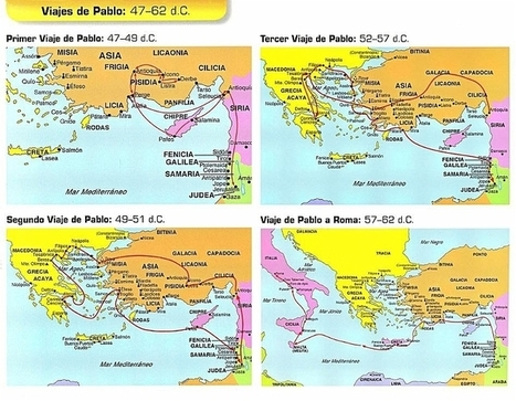 Viajes misioneros de san pablo pablo de tarso for Cuarto viaje de san pablo