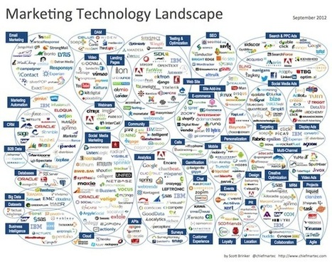 Comment on Marketing Technology Landscape Supergraphic (2012) by Scott Brinker | Designing design thinking driven operations | Scoop.it