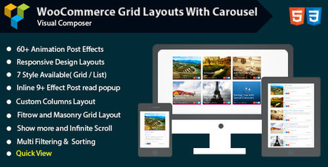 Visual Composer - Woocommerce Grid with Carousel (Add-ons) Download   Wordpress Themes Download   Scoop.it