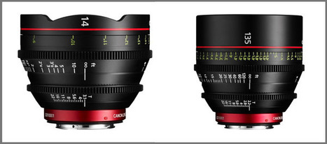 Canon expands Cinema EOS System with wide-angle 14mm T3.1 and telephoto 135mm T2.2 EF Cinema primes | world of Photo and vidéo | Scoop.it