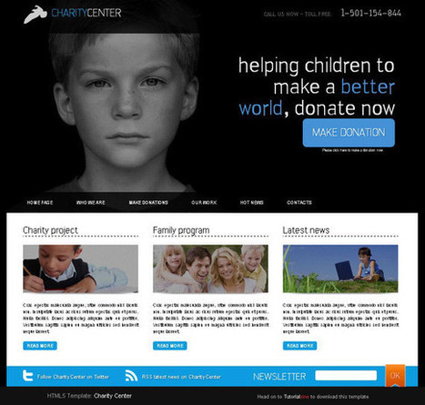 Collection of Free HTML5 and CSS3 Templates II   Lindsay Dealy - Web Developer   Scoop.it