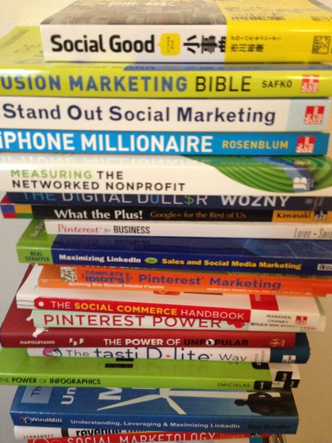 The 20 Best Social Media Books from 2012 to Read in 2013 | Social media influence tips | Scoop.it