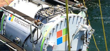 Et si on plongeait un datacenter dans l'océan ? | Cloudnews | Scoop.it