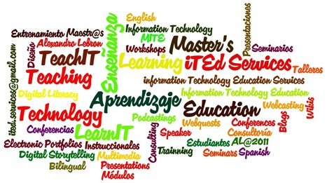 "Information Technology in Education Wordle - ""Word Cloud"" 