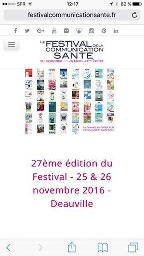 Tweet from @NathalieBissotC | Festival de la Communication Santé | Scoop.it
