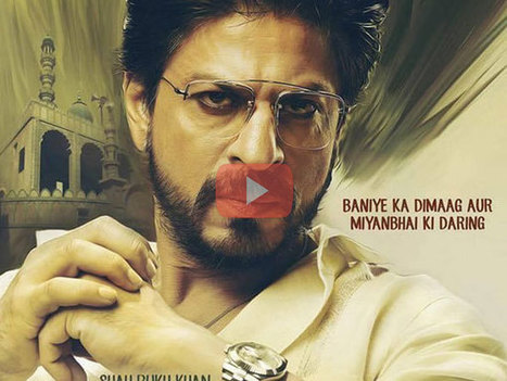 Raees Official Teaser (Watch): Shahrukh Khan's Eid Offering | Bollywood Movies News | Scoop.it