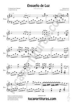 Ensueño de Luz por diegosax Partitura de Piano Composición diegosax | Revista Digital de Partituras Musicales | Scoop.it