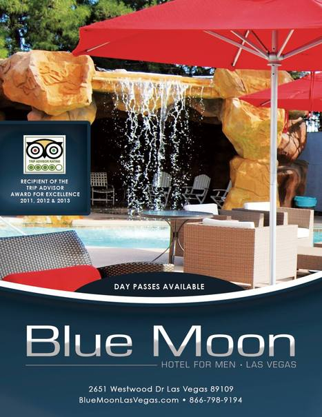 Blue Moon Hotel for Men, Las Vegas | Gay Vegas Daily | Scoop.it