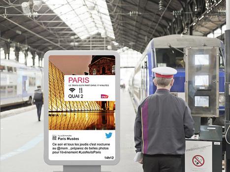 CityMeo – SNCF Challenge Digital   Affichage dynamique et PLV   Scoop.it